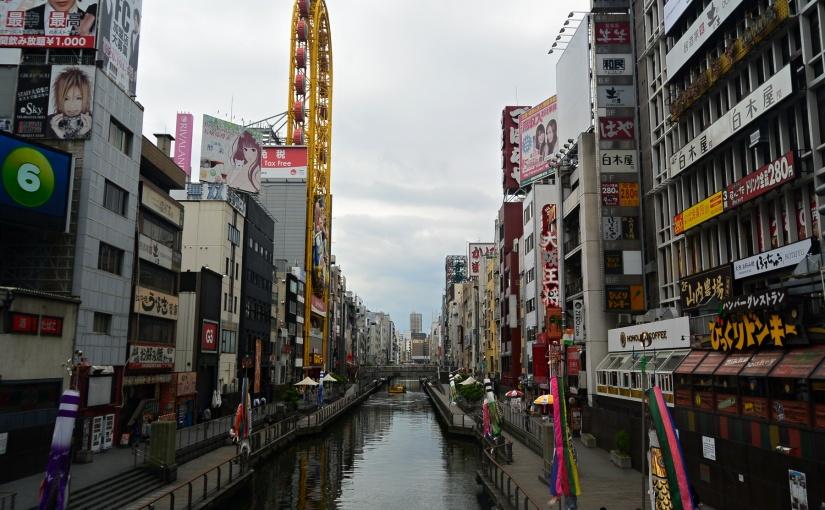 Day 2 : Menjelajahi Osaka (Namba Park, Shinshaibashi,Dotonbori)