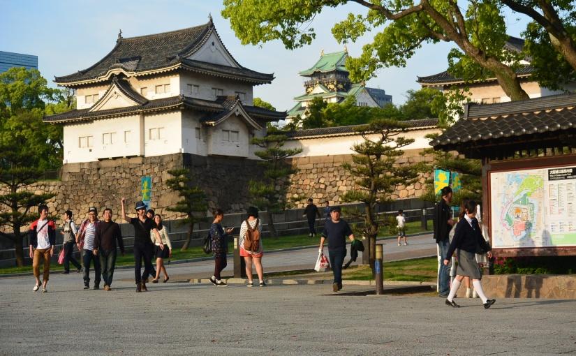 Day 2 : Menjelajahi Osaka (Shitennoji Temple, Osaka Castle, Umeda SkyBuilding)